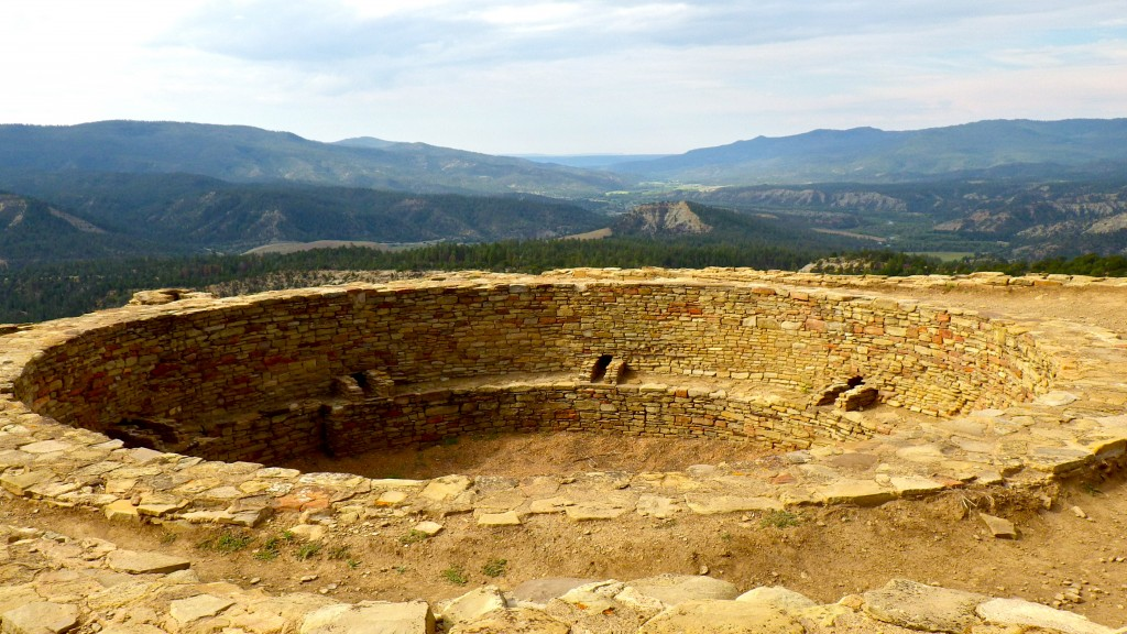 Great Kiva, Chimney Rock National Monument, Colorado