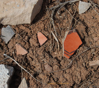 Assorted potsherds PI - PII